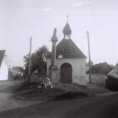 Kaplička v Nebřežinech, 70. léta 20. století, foto Jiří Svoboda st.